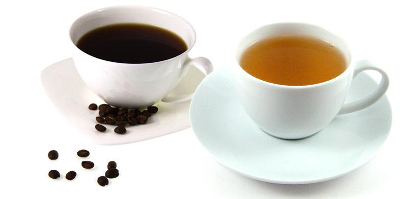 コーヒーと紅茶、どちらの方がカフェインは多く含まれている?のサムネイル画像