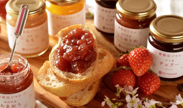 果物の優しい甘さ・・・St.Cousair(サンクゼール)のジャム。のサムネイル画像