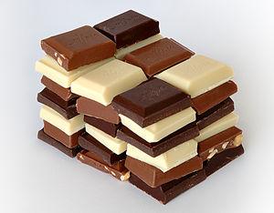 「ビター」、「ミルク」、「ホワイト」チョコレートの種類のまとめのサムネイル画像