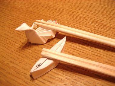 一目置かれる事間違いなし☆知ってて損はない!箸袋で箸置きの作り方のサムネイル画像