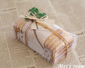 自分で出来る☆パウンドケーキのおしゃれなラッピング方法!のサムネイル画像