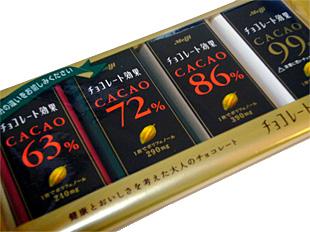 カカオチョコレートを食べると、健康効果が豊富なのでおすすめ!のサムネイル画像