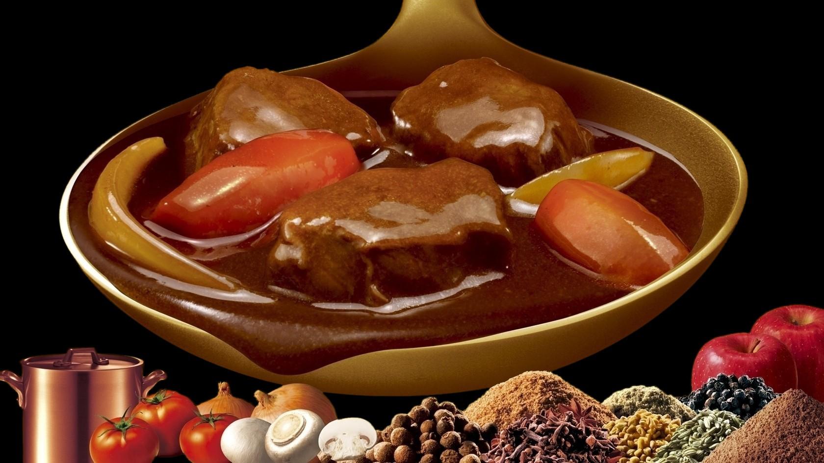 美味しいのはお菓子だけじゃない!グリコのカレー まさにZEPPIN!!のサムネイル画像