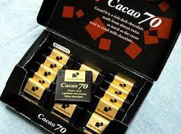 カカオ70%チョコレートには、男性にも女性にも嬉しい効果があった!のサムネイル画像