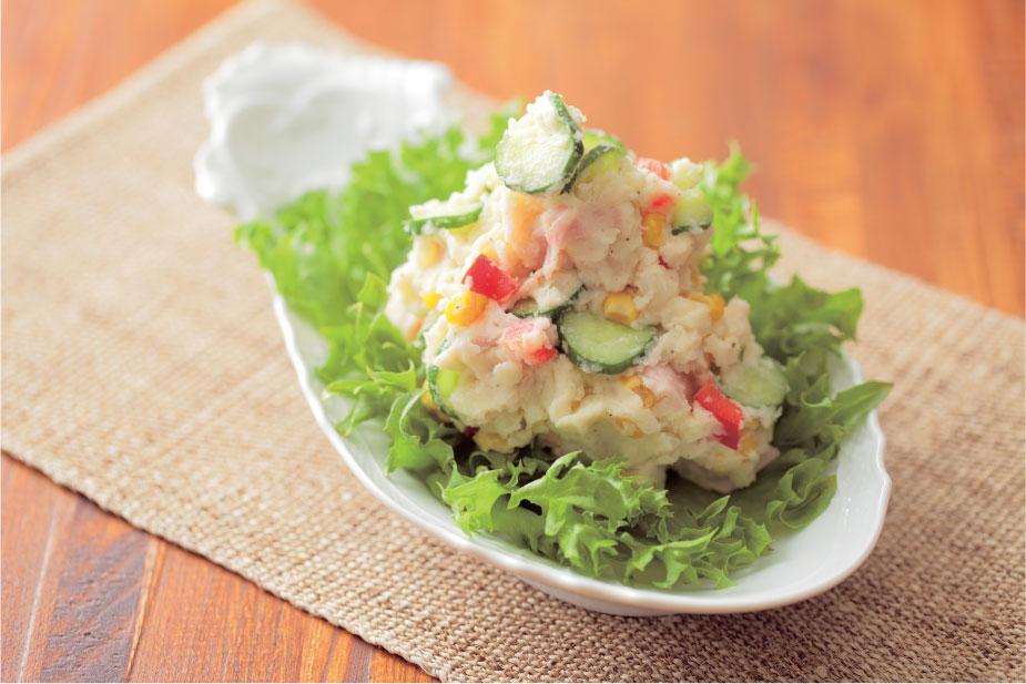作り方【簡単】なポテトサラダ!保存方法は食材で変わります!のサムネイル画像