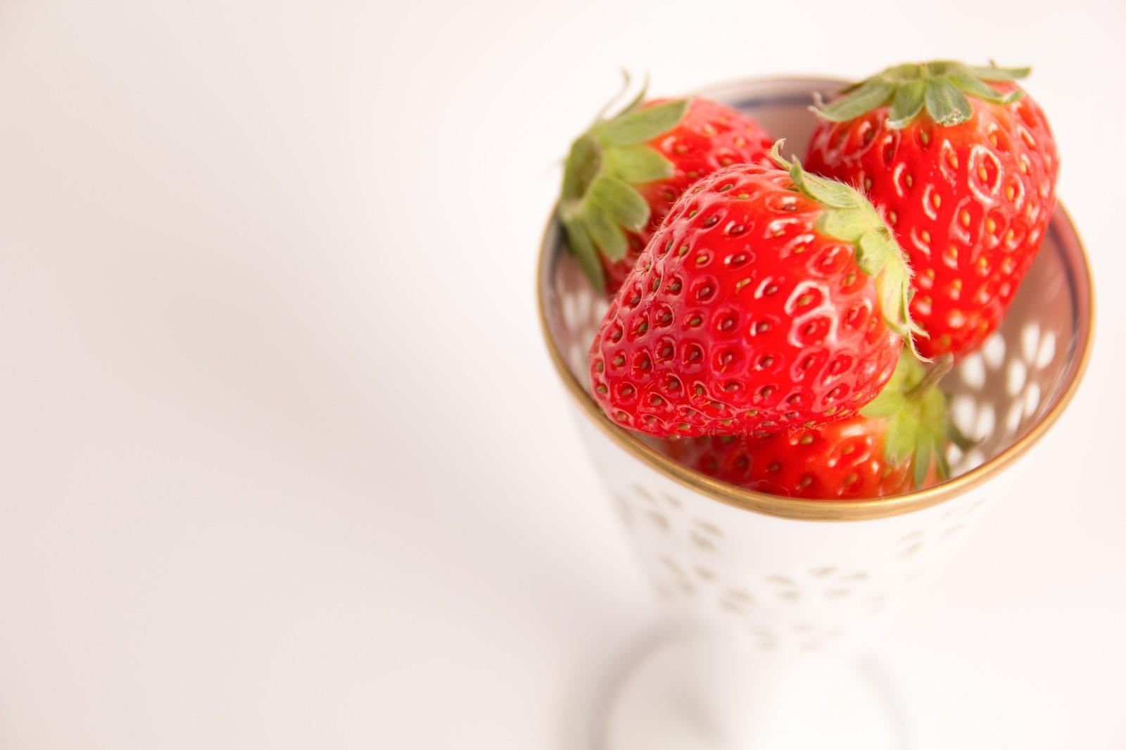 みんなが大好きないちごにはたくさんの栄養と女性にうれしい健康効果のサムネイル画像