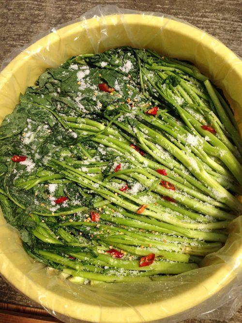 美味しい高菜漬けを食べたい!自宅で簡単!美味しい高菜漬けの漬け方のサムネイル画像