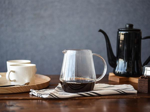 淹れる時からコーヒーを楽しめる・コーヒーサーバーの選び方、使い方のサムネイル画像