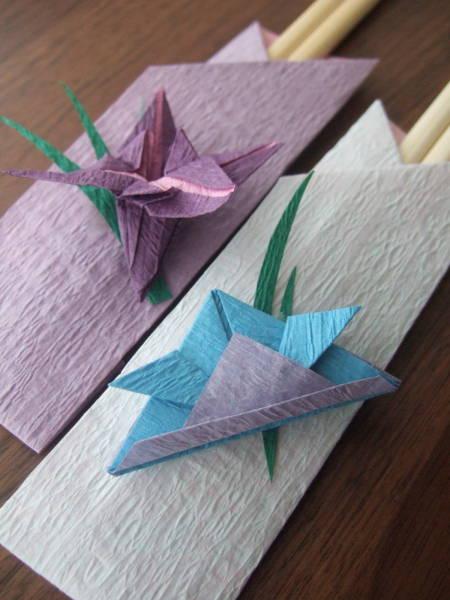折り紙で作る手作りの箸袋☆おもてなしの心で季節の食卓を華やかにのサムネイル画像