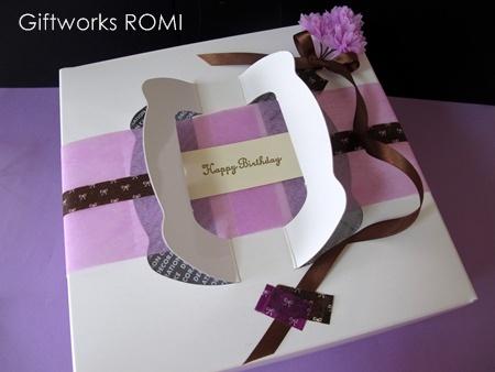 ケーキを可愛くラッピング♡気持ちを伝える魔法のプレゼント特集!のサムネイル画像