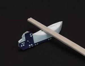 合コンや飲み会などにも役立つ!箸袋で作る箸置きの作り方!のサムネイル画像