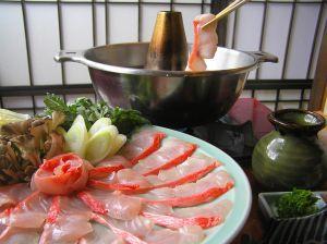 一生に一度は食べてみたい!憧れの金目鯛のしゃぶしゃぶのお話しの画像